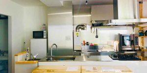 定例会議で利用したキッチン