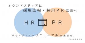 これからのオウンドメディアは、HR×PR活用へ。採用広報・採用PRのためのサイト制作・運用・リニューアルサービスを提供開始〜株式会社mannaka〜